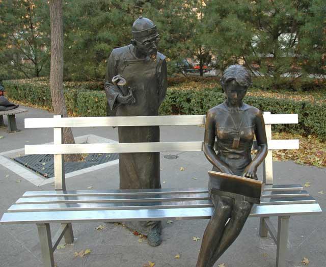 Statue in Beijing
