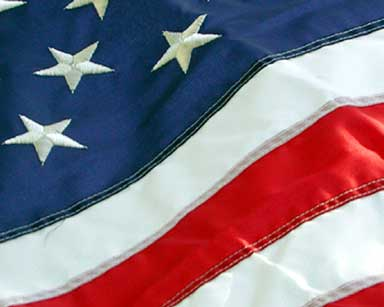 Flag on July 4, 2002