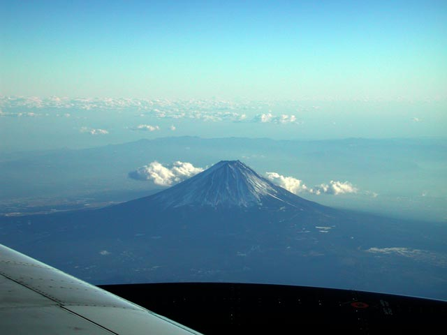Mt Fuji, from the West Jan 8, 2006