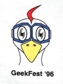 Geekfest '96 Logo