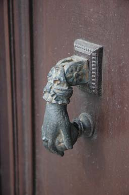 Door Knocker in Nice France