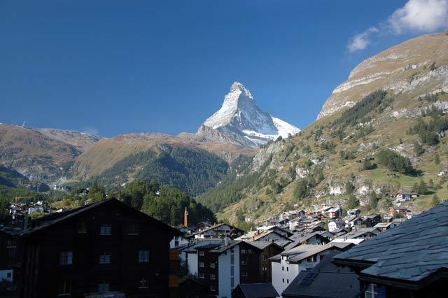 The Matterhorn From Zermatt Switzerland