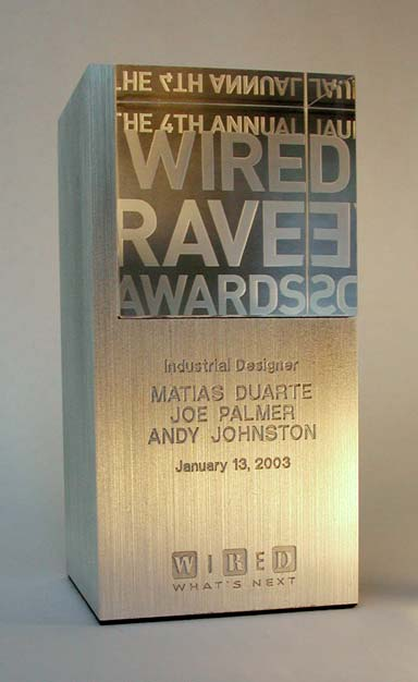 Wired Rave Award