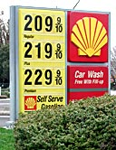 Gas $2.099 $2.199 $2.299