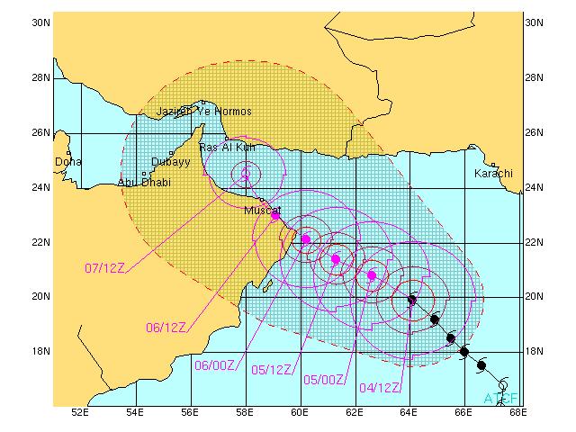 Tropical Storm Gonu