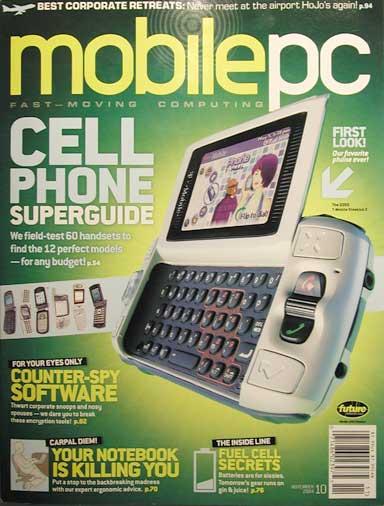 Cover of MobilePC November 2004
