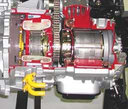 Prius Engine Cutaway